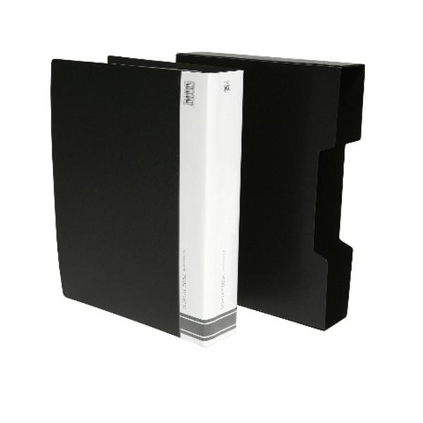 FM A4 80 Pocket Display Book - Black