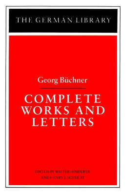 Complete Works and Letters by Georg Buchner