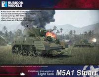Rubicon 1/56 US M5A1 Stuart/M5A1 Recce (Mid & Late Production)