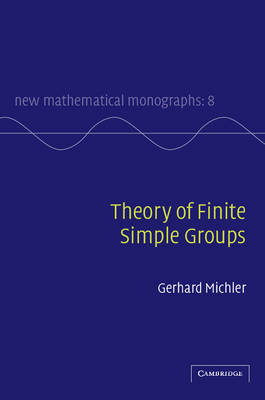 Theory of Finite Simple Groups by G. Michler image