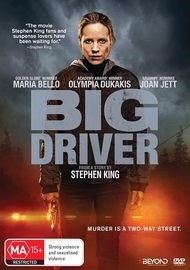 Big Driver on DVD