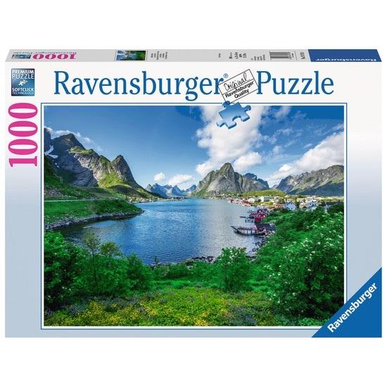 Ravensburger: Lofoten Harbour - 1000pc Puzzle
