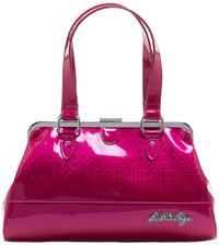 Sourpuss Bettie Page Centerfold Purse Prisma - Pink