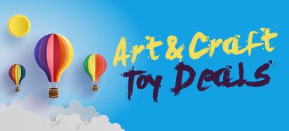 Art & Craft Toy Deals!