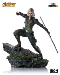 Marvel: 1/10 Black Widow - Battle Diorama Statue
