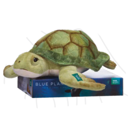 "BBC Earth: Turtle - 7"" Plush"