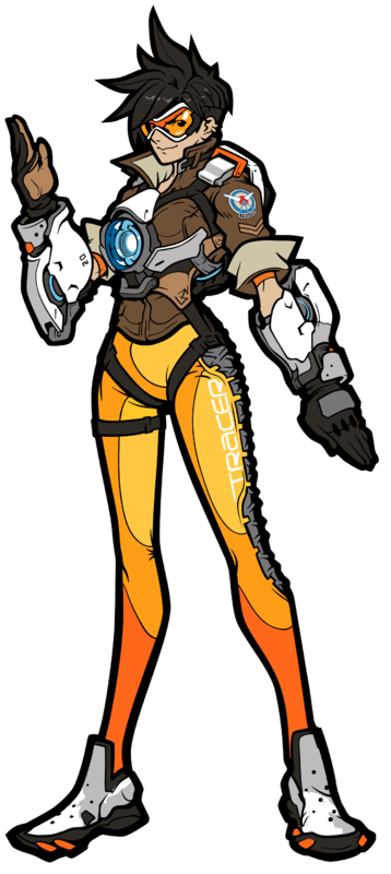 Overwatch: Tracer (#132) - FiGPiN