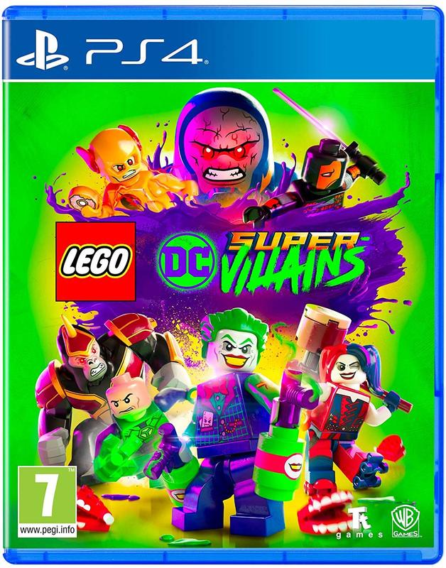LEGO DC Super Villains for PS4