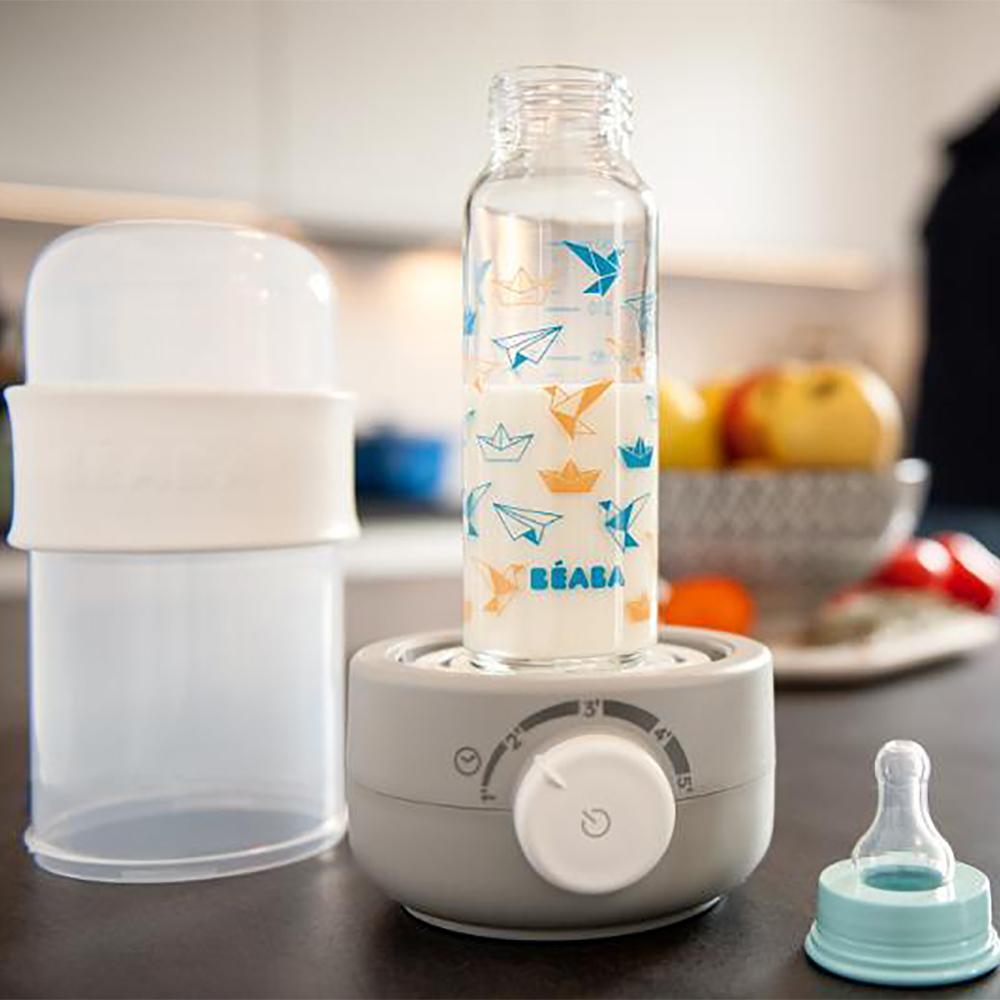 Beaba: Baby Milk Second Bottle Warmer - Grey image