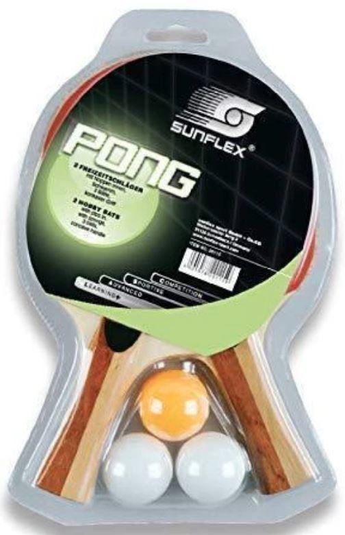 Sunflex Pong Table Tennis Set