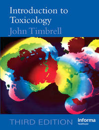 Introduction to Toxicology by John A Timbrell image