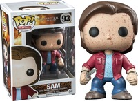 Supernatural Sam Winchester Blood Splatter Pop! Vinyl Figure