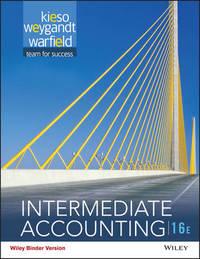Intermediate Accounting, Binder Ready Version by Donald E. Kieso