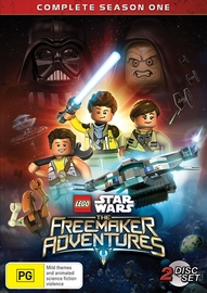 LEGO Star Wars: The Freemaker Adventures - Season 1 on DVD