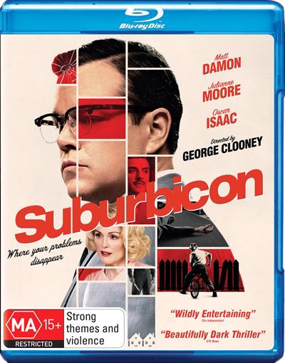 Suburbicon on Blu-ray