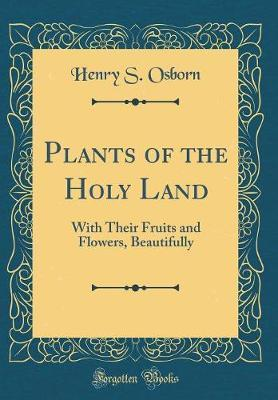Plants of the Holy Land by Henry S Osborn