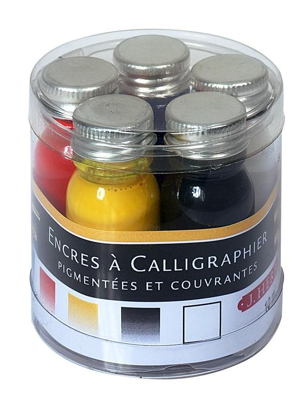 J Herbin: Inks Sampler - Calligraphy (5 Pack)