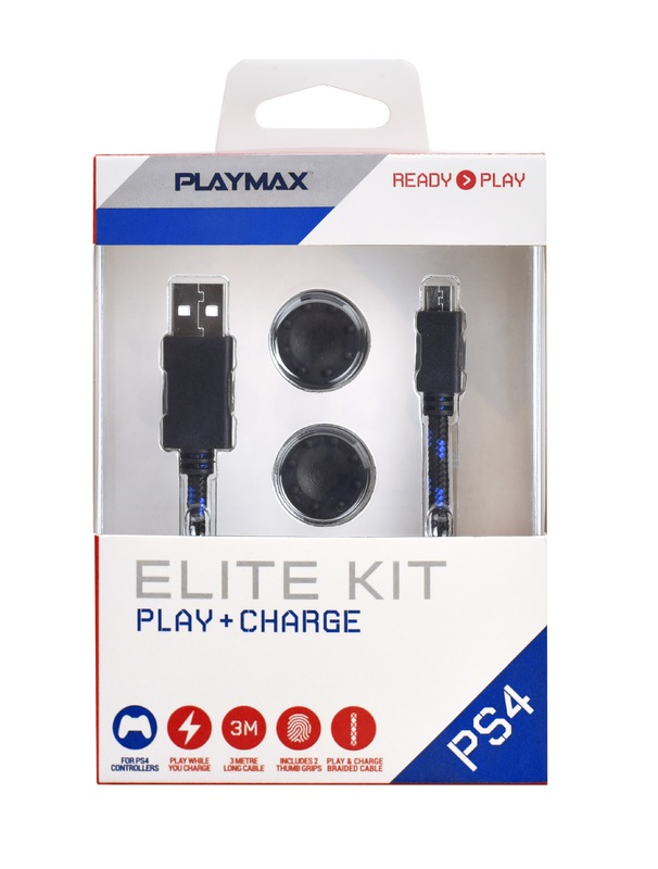 Playmax PS4 Play & Charge Elite Kit for PS4