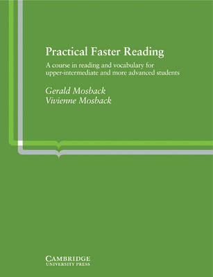 Practical Faster Reading by Gerald Peter Mosback image