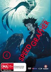 Speed Grapher - Vol 4 on DVD