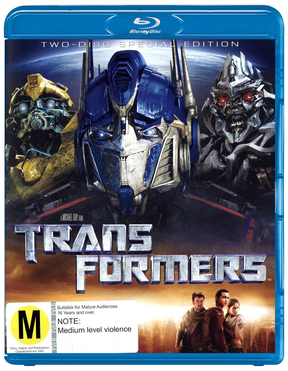 Transformers on Blu-ray image