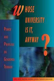 Whose University Is It, Anyway? image