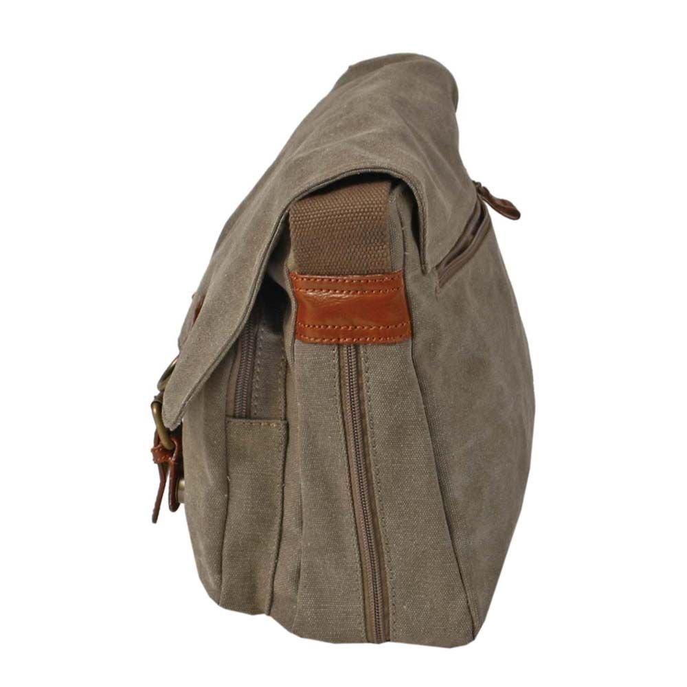 Troop London: Classic Satchel Bag - Brown image