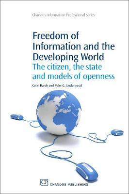 Freedom of Information and the Developing World by Colin Darch image