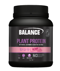 Balance Naturals Plant Protein - Berry (1kg)