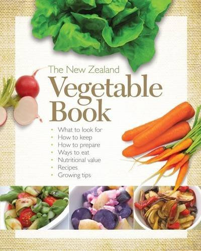 The New Zealand Vegetable Book by Glenda Gourley