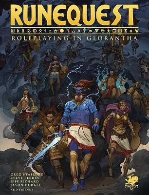 Runequest: Roleplaying in Glorantha Core Rulebook image