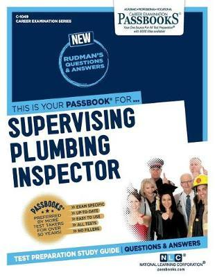 Supervising Plumbing Inspector by National Learning Corporation