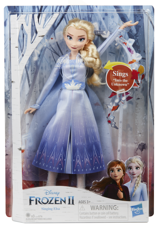 Frozen II: Singing Elsa - Fashion Doll
