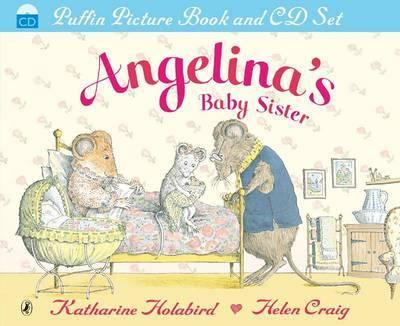 Angelina's Baby Sister by Katharine Holabird image
