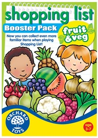 Orchard Toys: Shopping List Booster Pack Fruit and Vegetables