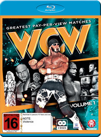 WWE: WCW's Greatest Pay-Per-View Matches Vol. 1 on Blu-ray