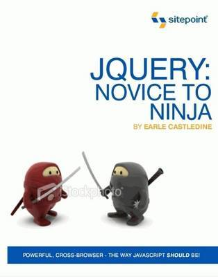 JQuery: Novice to Ninja by Earl Castledine image