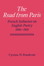 The Road from Paris by Cyrena N. Pondrom image