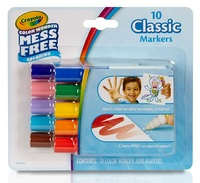 Crayola: Color Wonder Mini Markers - Classic 10 Pack