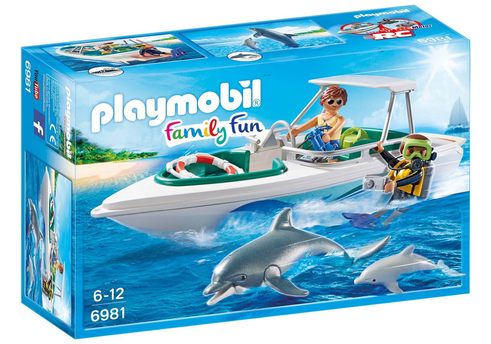 Playmobil: Family Fun - Diving Trip with Speedboat image