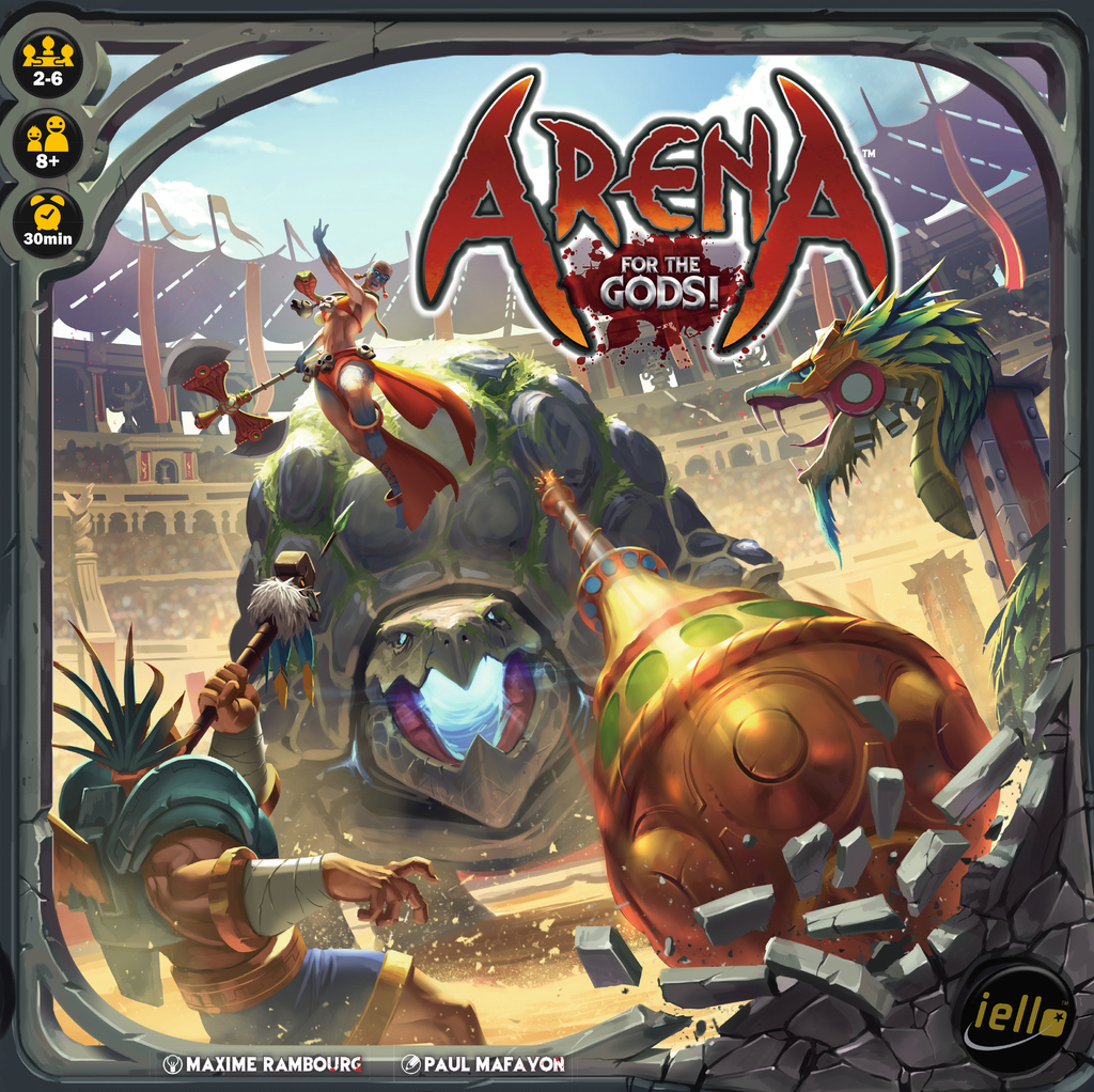 Arena: For the Gods - Board Game image