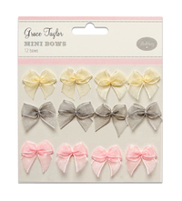 Grace Taylor Wedding - Mini Bows (12 Pack)