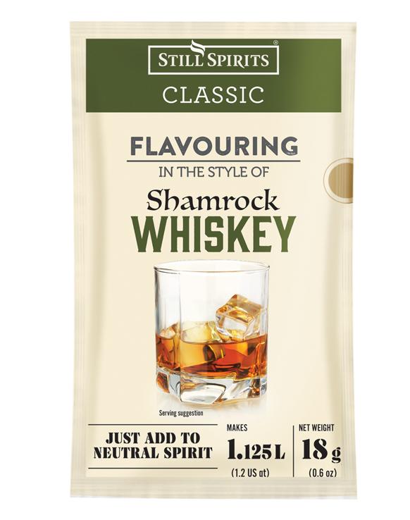 Still Spirits Classic Shamrock Whiskey Sachets (2 x 1.125L)