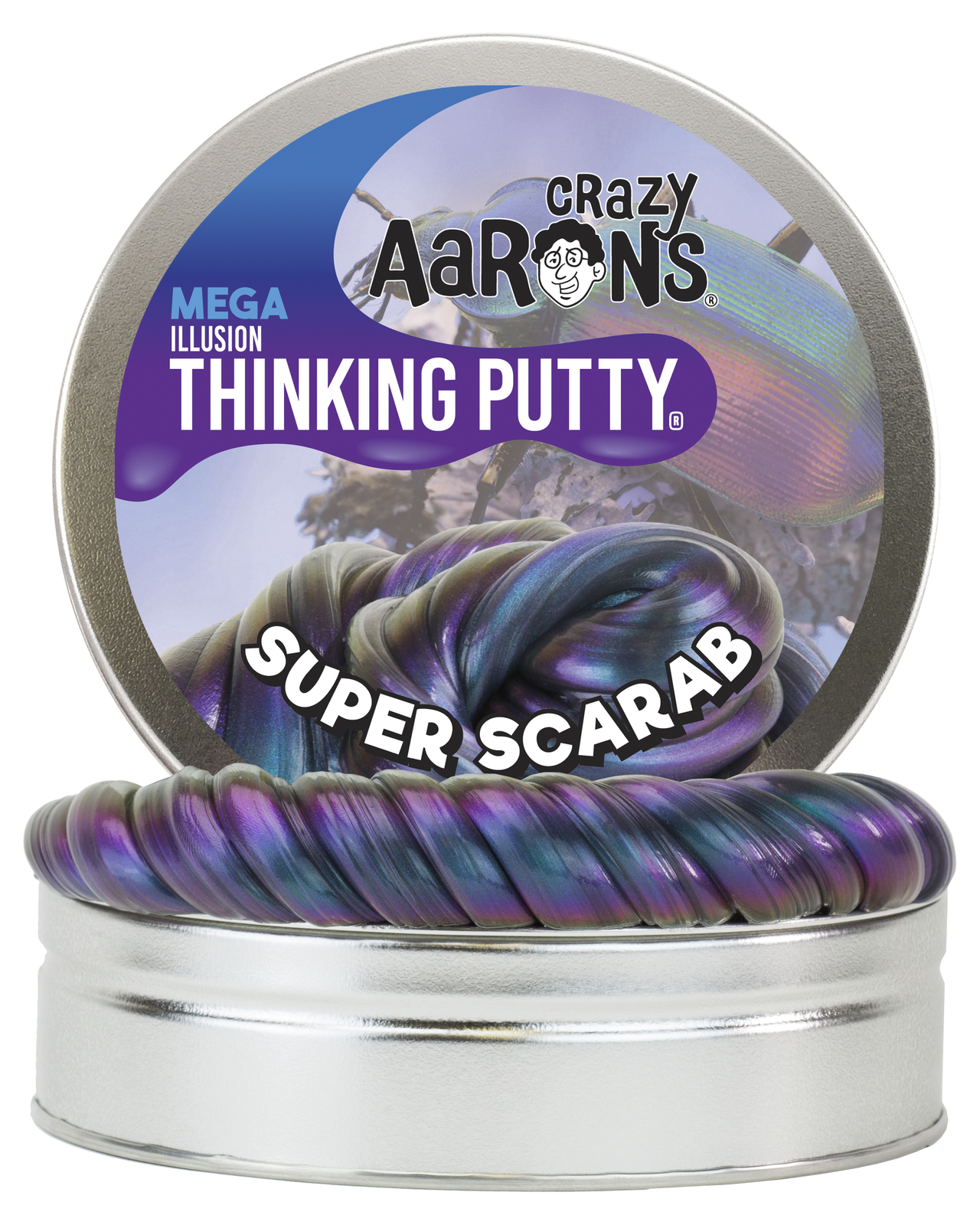 Crazy Aarons: Thinking Putty - Super Scarab (Mega Tin) image