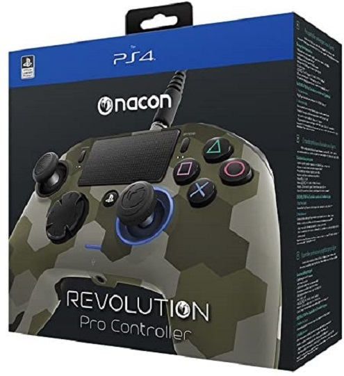 Nacon PS4 Revolution Pro Unlimited Gaming Controller (Camo Green) for PS4