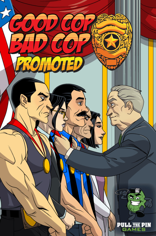 Good Cop Bad Cop: 3rd Edition - Promoted Expansion