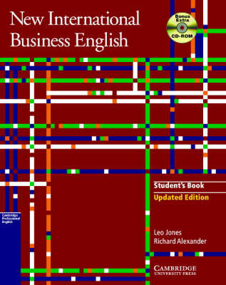 New International Business English Updated Edition Student's Book with Bonus Extra BEC Vantage Preparation CD-ROM: Communication Skills in English for Business Purposes by Leo Jones image