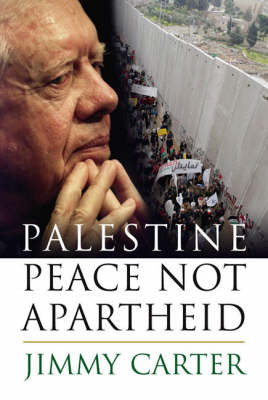 Palestine: Peace Not Apartheid by Jimmy Carter image