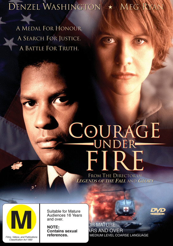 Courage Under Fire on DVD
