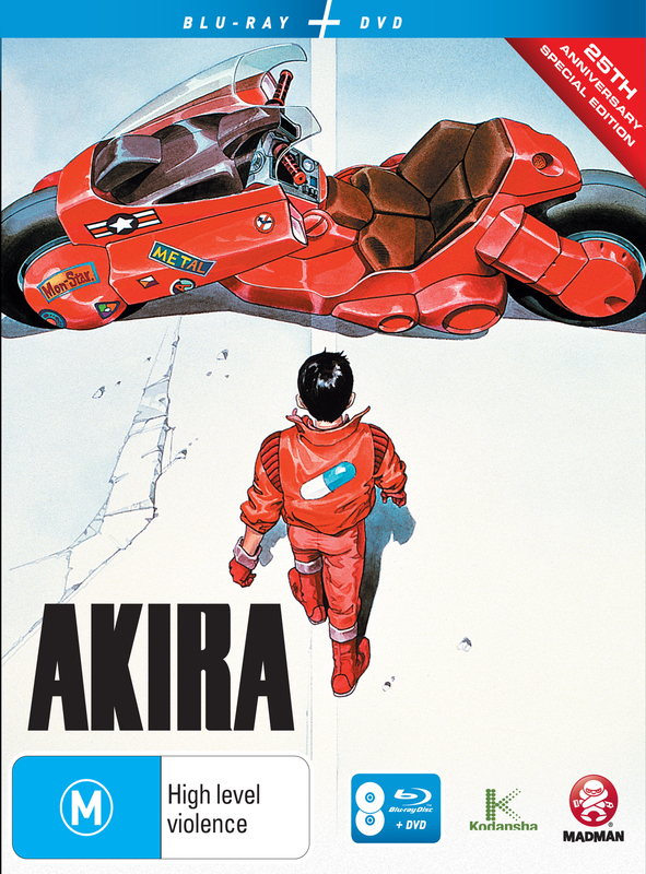 Akira - 25th Anniversary: Special Edition on DVD, Blu-ray